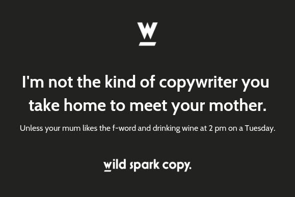 Wild Spark Copy Copywriting, editing, brand storytelling, Copywriting, editing, web + packaging copy services. Brisbane, Australia.