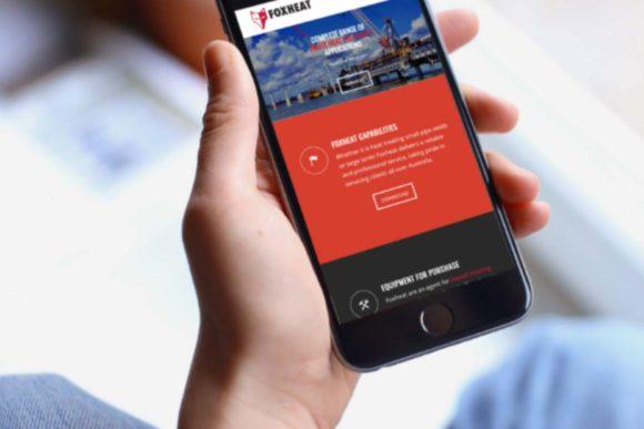 FoxHeat Website Design