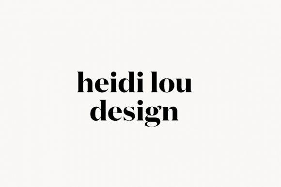 Heidi Lou Design Graphic Design Services